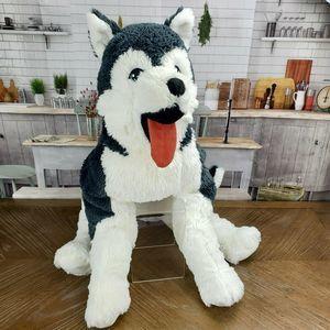 "🐕NEW 28"" IKEA Siberian Husky LIVLIG Plush Puppy"